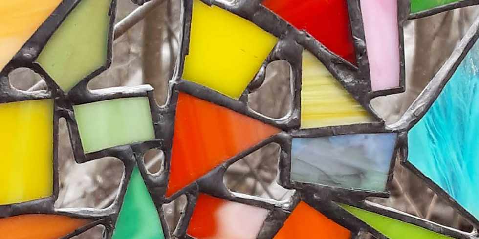 Stained Glass Crazy Quilts at ArtisTree in South Pomfret, Vt