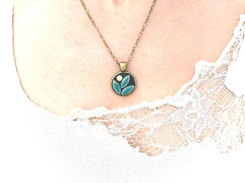 Mosaic Jewelry Pendant