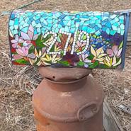 Custom Glass Mosaic Mailbox- 2020