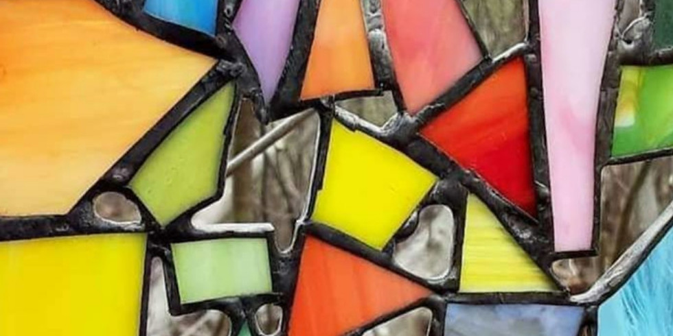 Stained Glass Crazy Quilts