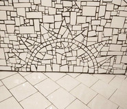 Custom Mosaic Shower Seat-2021