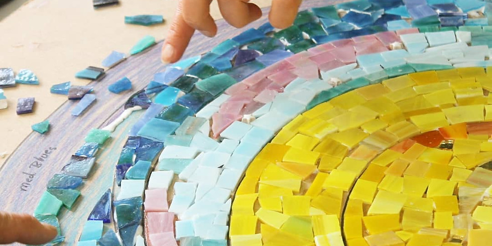 Cancelled- Collabrative Glass Mosaic at The White River Craft Center