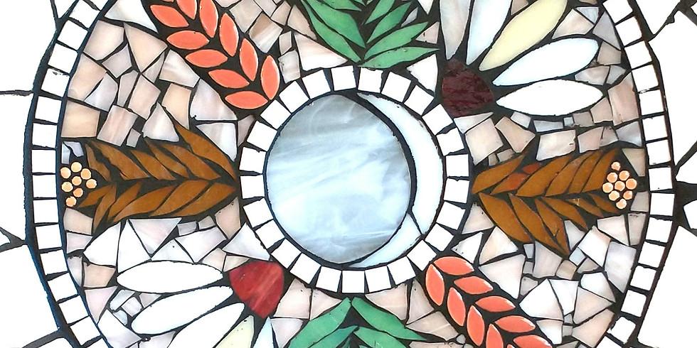 Nature Mandalas in Glass at ArtisTree