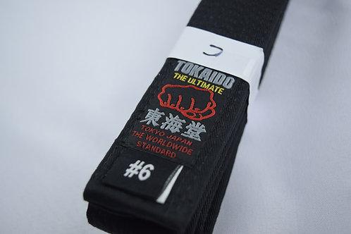 TOKAIDO BLACK BELT COTTON-FIST LABEL TOKAIDO-PRO