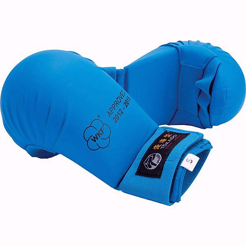 WKF-APPROVED TOKAIDO KARATE MITTS-BLUE