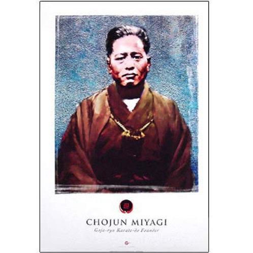 CHOJUN MIYAGI POSTER 12X18