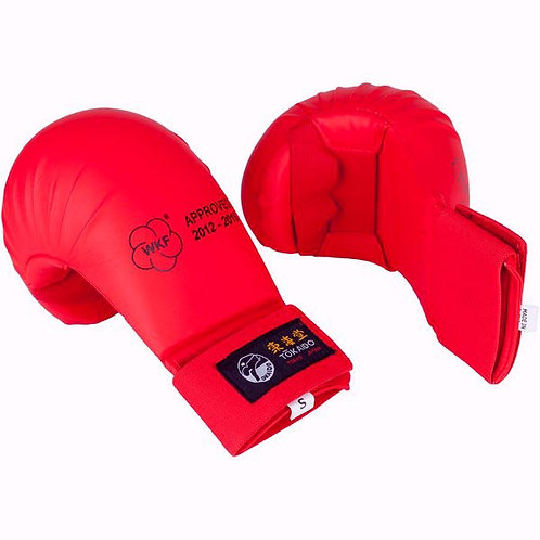 WKF-APPROVED TOKAIDO KARATE MITTS-RED