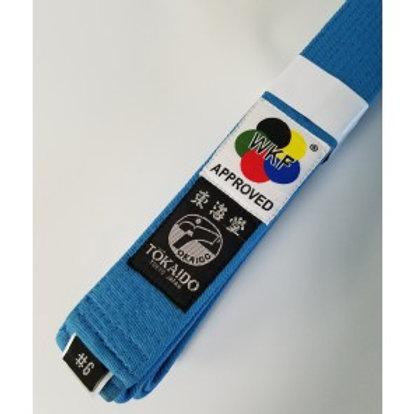 BLUE KARATE BELT TOKAIDO-WKF