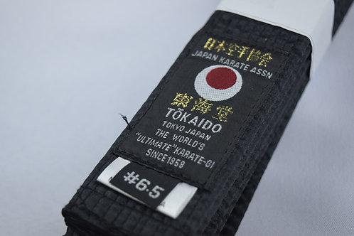 TOKAIDO BLACK BELT COTTON-JKA LABEL TOKAIDO-PRO
