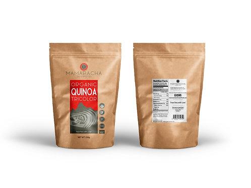 Organic Tricolor Quinoa Grain 250G