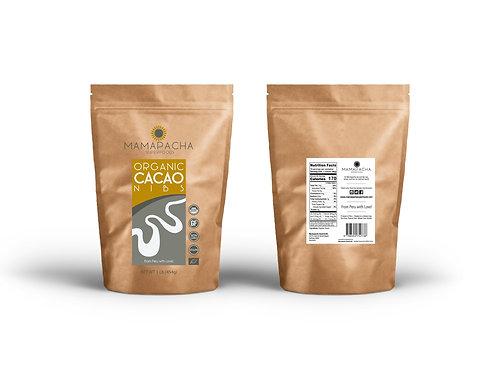 Organic Cacao Nibs 250G