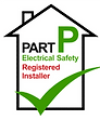 Part P safety logo – Electrical Testing Inspection in Essex are Part P electrical safety registered installers