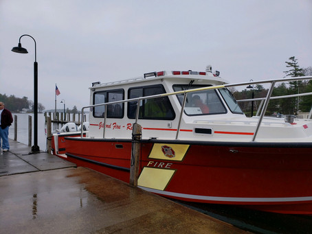 New Fire Boat Is Ready For Service