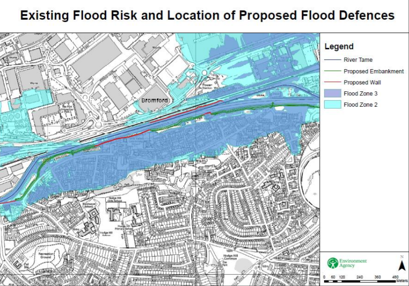 Click here to view  Environment Agency Bromford Flood Scheme Questions & Answers