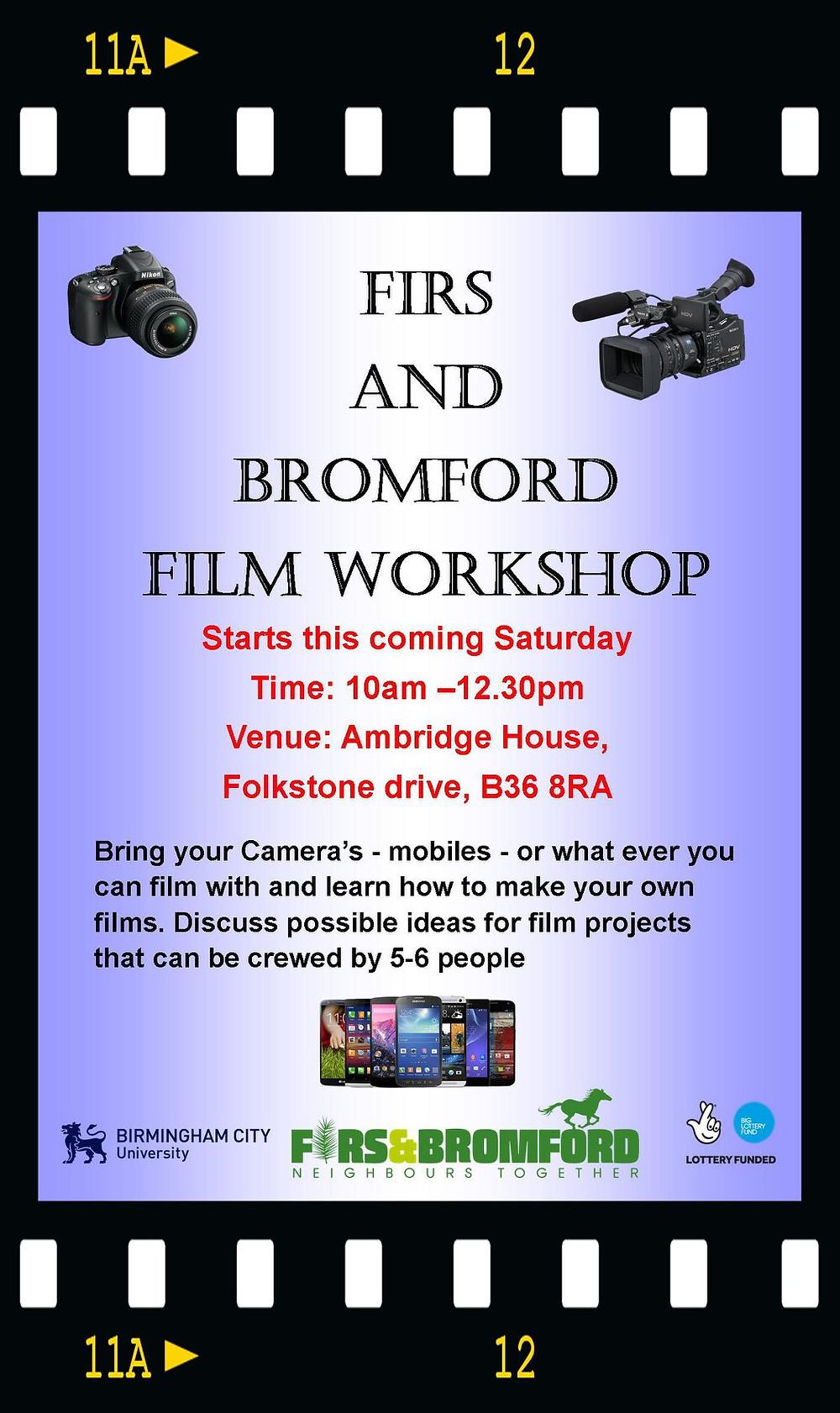 FREE FILM WORKSHOP