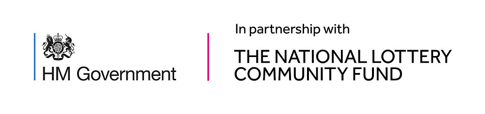 HM Government - in partnership with The National Lottery Community Fund.