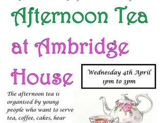AFTERNOON TEA at AMBRIDGE BRIDGE