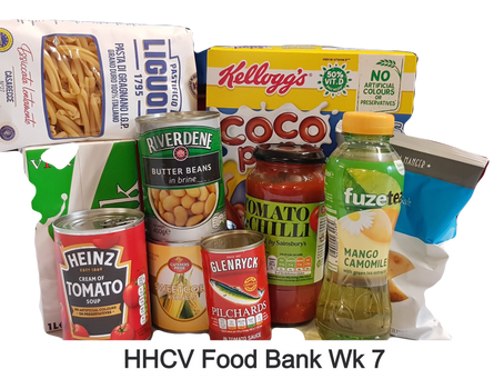 HHCV Food Bank Week 7.