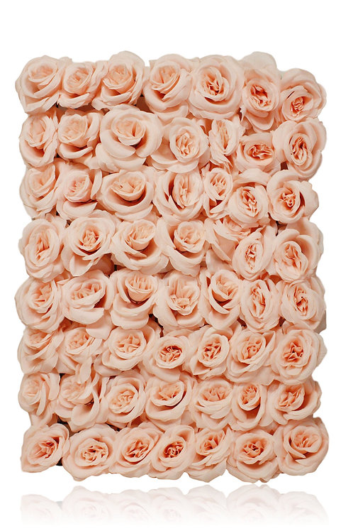 Artificial Rose Flower Mat with 56 Roses