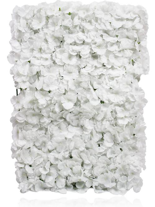 """Silk Hydrangea Flower Mat - 23"""" x 16"""""""