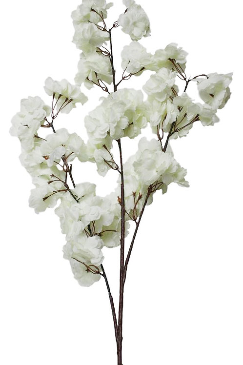 "44"" Peach Blossom Spray x 3"