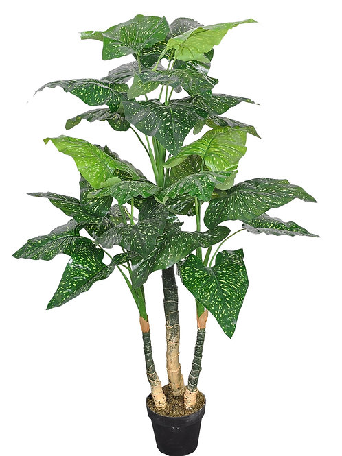 Artificial Real Touch Calla Lily Leaf Plant - 5' tall