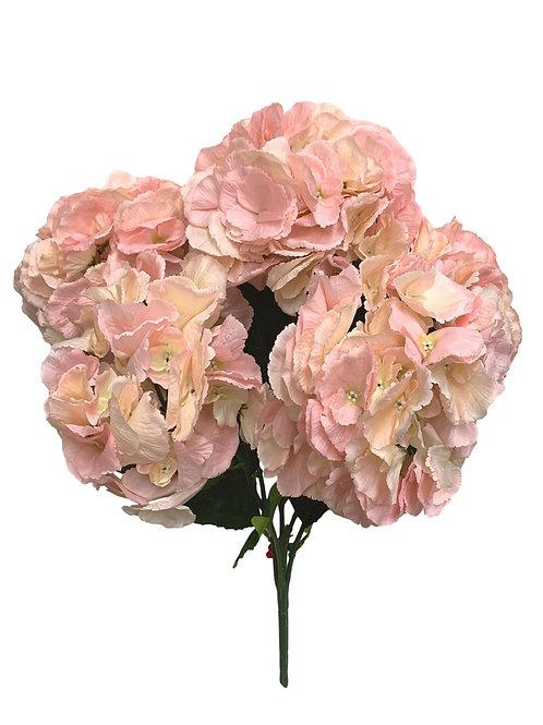 "23"" Hydrangea Bush X 5 (INT-052-Blush)"