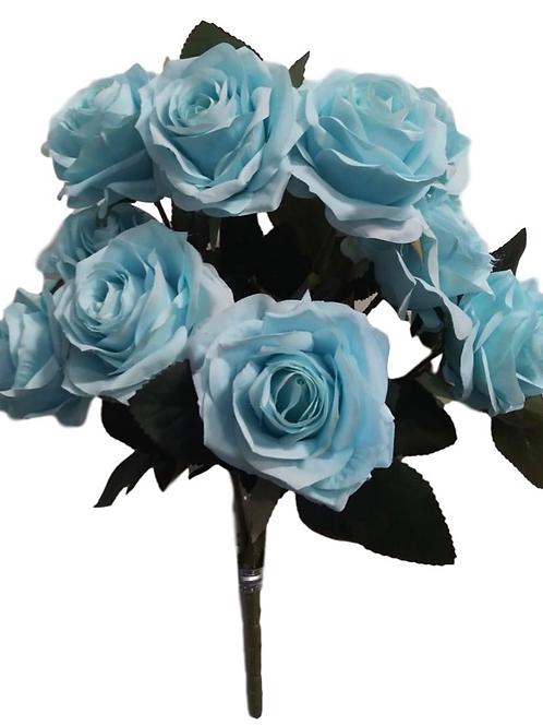 "Silk Rose Bush x 10 - 18"""