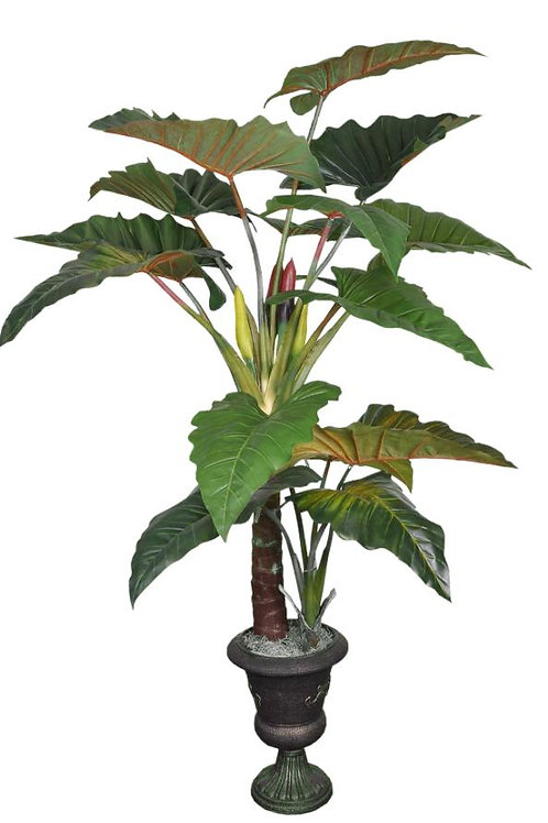 7.5' Real Touch Philodendron Plant with 16 Leaves