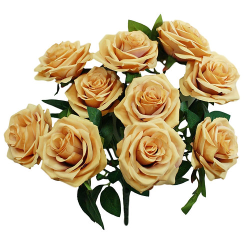 Silk Rose Bush x 10 -18""