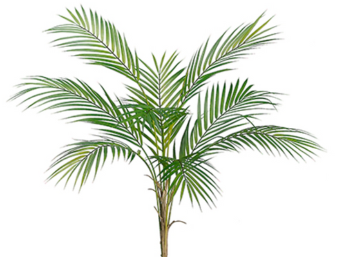 "Plastic Areca Palm Plant - 34"" Long"