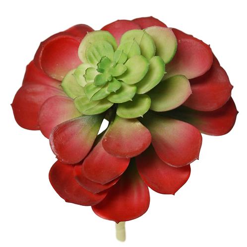 """7"""" Succulent Stem Red"""