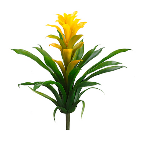 """14"""" Real Touch Bromeliad Plant"""