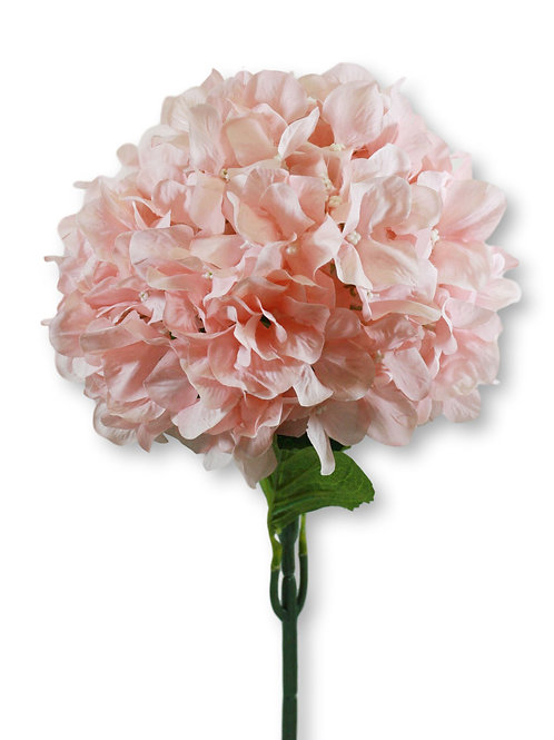 "Silk Blush Hydrangea Spray - 33"" Long"