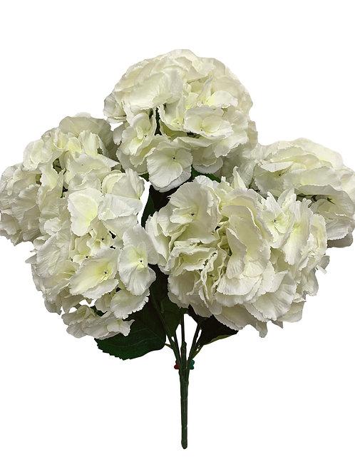 "23"" Hydrangea Bush X 5 (INT-052-Cream)"