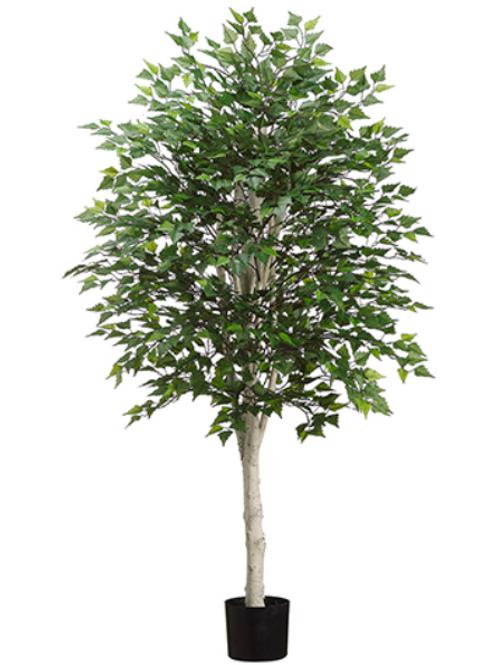 Artificial Birch Tree in pot - 5' Tall