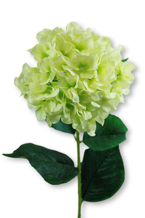 "Silk Green Hydrangea Spray -33"" Long"