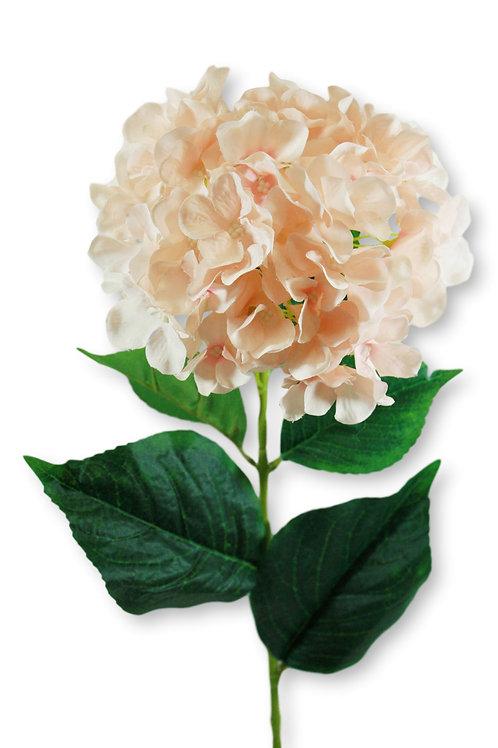 """Silk Blush Hydrangea Spray - 33"""" Long"""