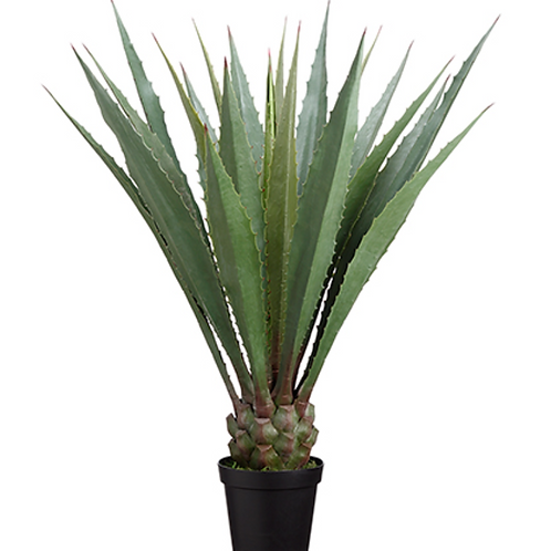 "Artificial Agave Americana Plant in pot - 48"" Tall"