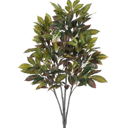Artificial Croton Tree with no pot - 3' Tall
