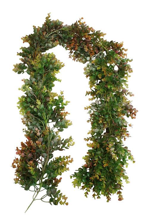 6' Plastic Eucalyptus Garland