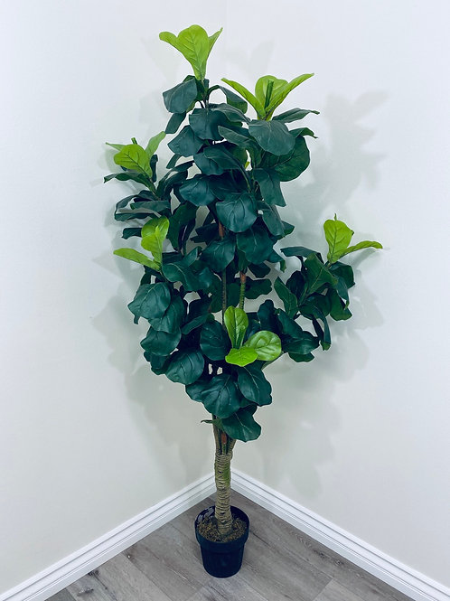 6' Real Touch Fiddle Leaf Tree