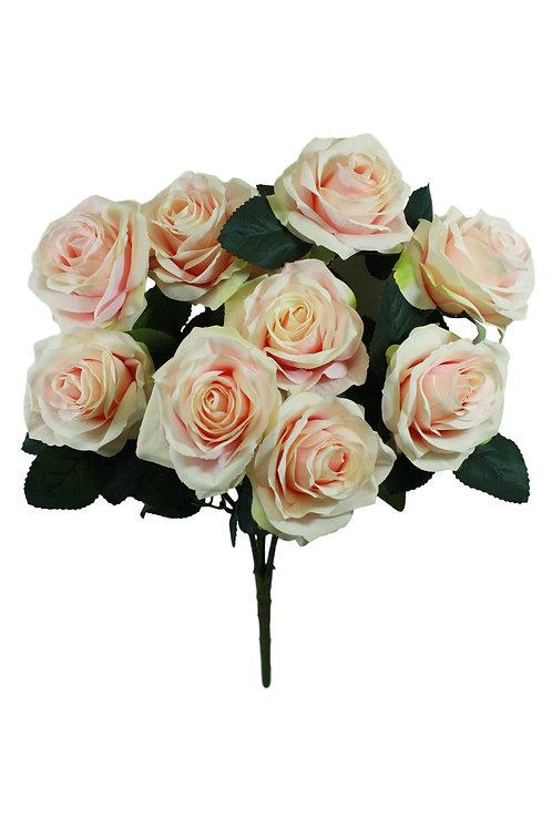 "Silk Rose Bush x 10 -18"""