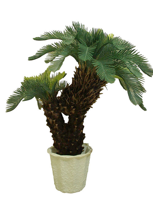 "39"" Artificial 2 Head Cycas"