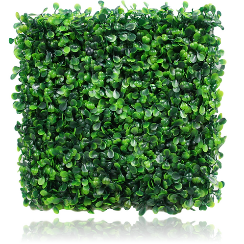 "Plastic Boxwood Hedge Mat - 10"" x 10"""