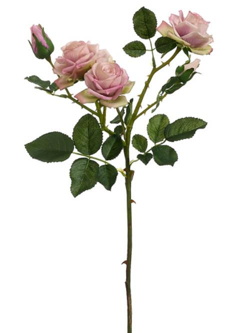 """22.5"""" Rose Spray in Lavender Color"""