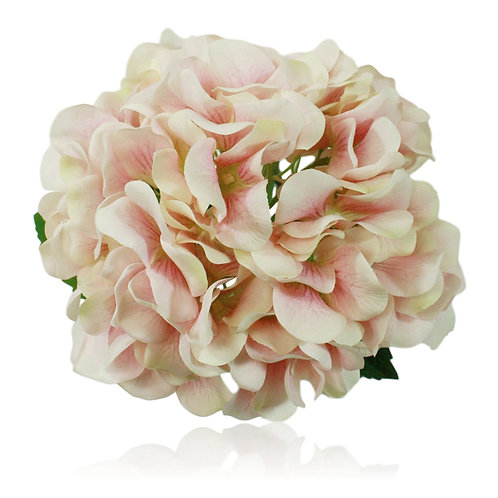 "21"" Silk Single Stem Hydrangea x 1"
