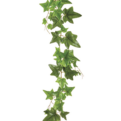 5' UV Protected PVC Ivy Leaf Garland