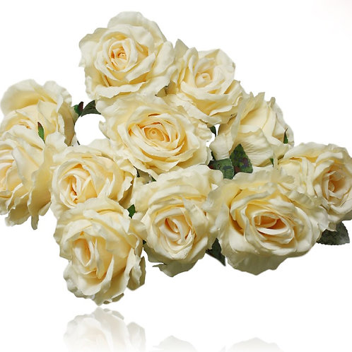 "Silk Rose Bush - 20"" Long"