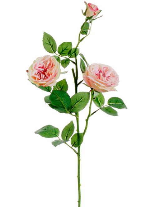 "29"" Silk Garden Rose Spray"